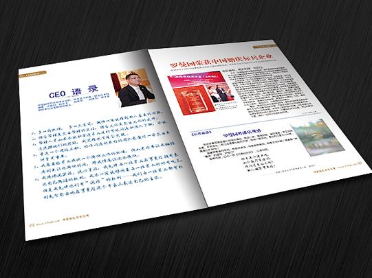公司期刊设计