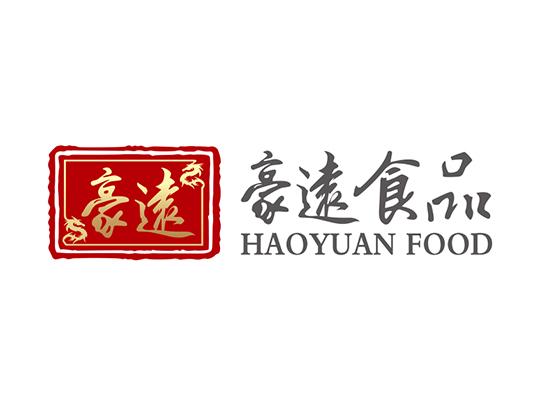 上海豪远食品 上海logo设计