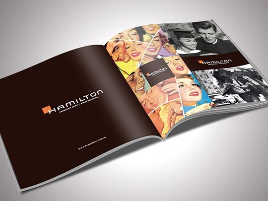 汉密尔顿 企业宣传册设计