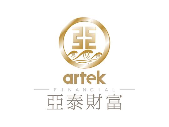 亚泰财富 上海logo设计