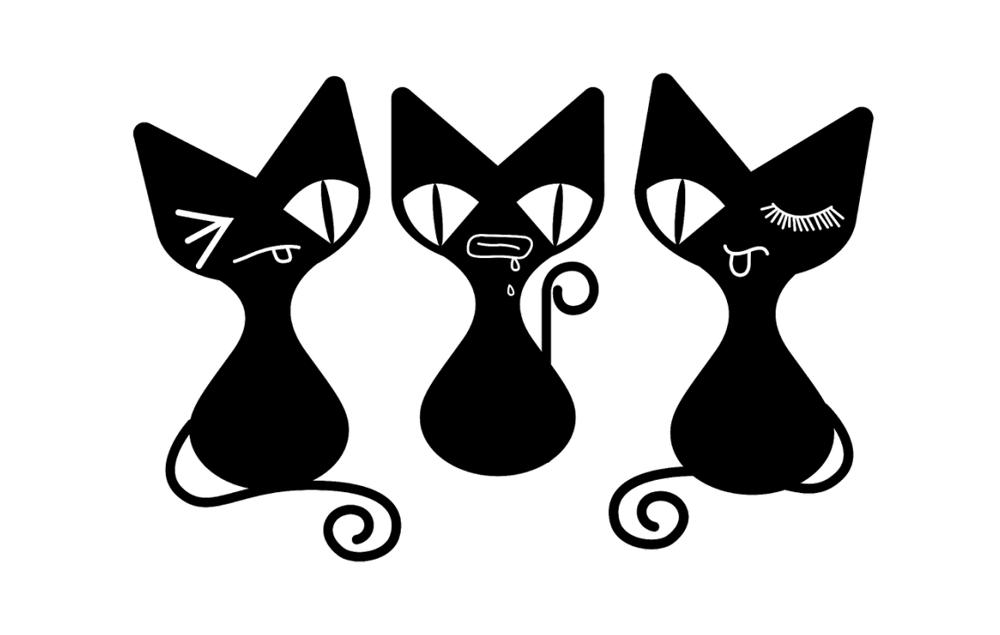 隐形眼镜连锁品牌LOGO升级-猫目家MOMU企业形象设计